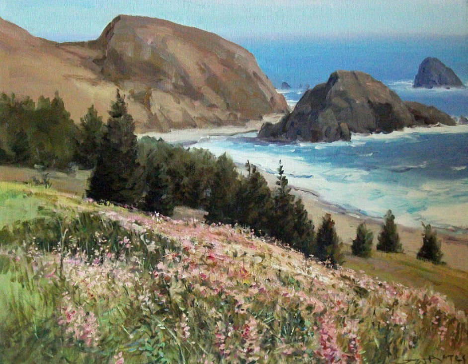 #1009 west coast wild flowers