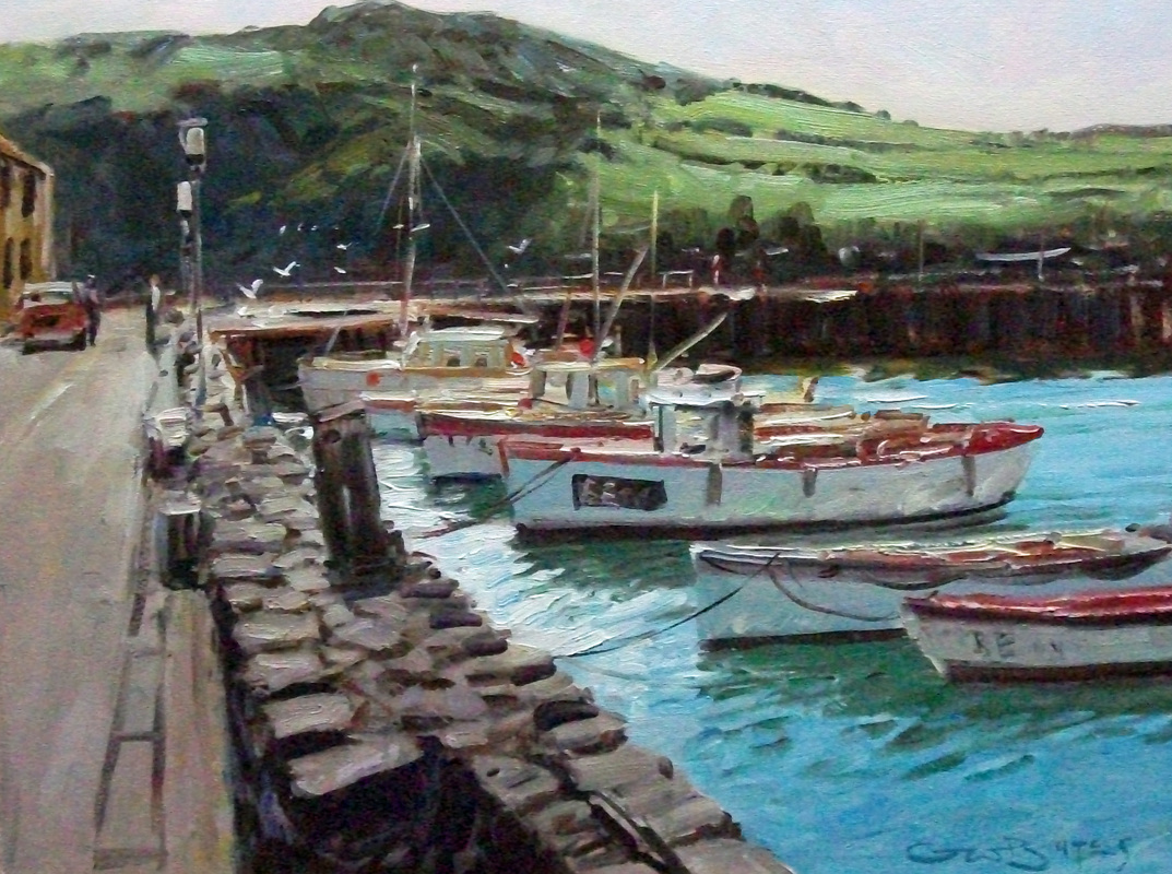 #1882 ifracombe harbour